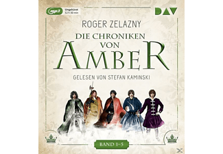Die Chroniken von Amber.Band 1-5 - 5 MP3-CD - Fantasy