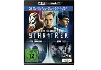 STAR TREK - Three Movie Collection - (4K Ultra HD Blu-ray + Blu-ray)