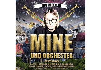 Mine! - Mine & Orchester-Live In Berlin - (CD)