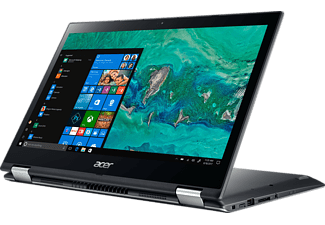 ACER Acer Spin 3 (SP314-51-548L), Convertible mit 14 Zoll, 256 GB Speicher, 8 GB RAM, Core™ i5 Prozessor, Microsoft Windows 10 Home (64 Bit), Steel Gray