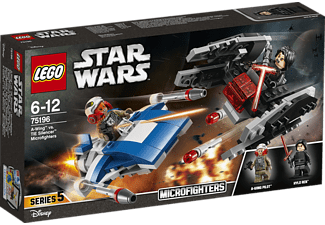 LEGO A-Wing™ vs. TIE Silencer™ Microfighters (75196)