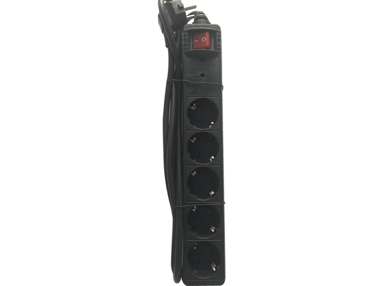 BITMORE P500 Black Powerstrip 1300J laptop  tablet  computing  περιφερειακά προστασία ρεύματος τηλεόραση   ψυχαγωγία