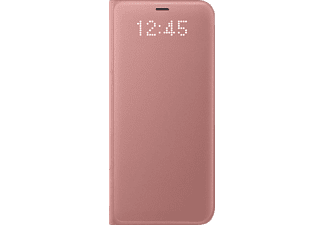 SAMSUNG LED View Galaxy S8 Handyhülle, Pink