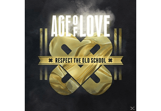 VARIOUS - Age Of Love-Respect The Old School (5CD Box) - (CD)
