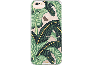 FLAVR IPLATE BANANA LEAVES iPhone 6, 7, 8 Handyhülle, Transparent