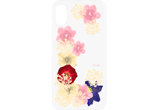 FLAVR iPlate Real Flowers iPhone X Handyhülle, Transparent