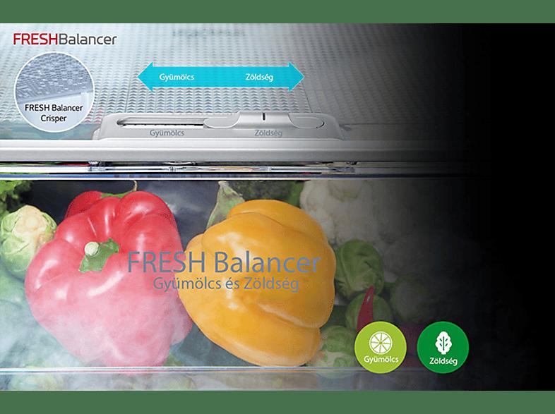 LG GBB60PZGFS No Frost kombinált hűtőszekrény
