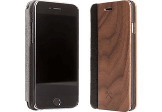 WOODCESSORIES EcoFlip Donald iPhone 7 Handyhülle, Walnuss
