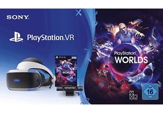 SONY PlayStation VR V2 + Camera + VR Worlds Voucher, Virtual Reality Brille