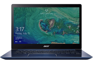 ACER Swift 3 (SF314-52-75ZE), Notebook mit 14 Zoll Display, Core™ i7 Prozessor, 8 GB RAM, 512 GB SSD, HD Graphics 620, Stellar Blue (Unibody Aluminium)
