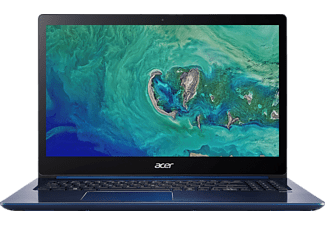 ACER Swift 3 (SF315-41G-R81H), Notebook mit 15.6 Zoll Display, Ryzen™ 7 Prozessor, 8 GB RAM, 256 GB SSD, Radeon™ RX 540, Stellar Blue (Unibody Aluminium)