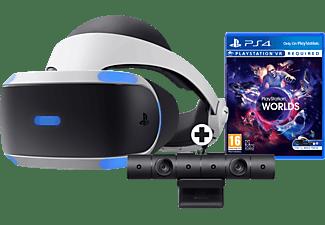 Sony PlayStation VR + VR Worlds + PlayStation 4 Camera V2