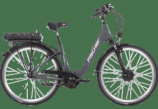 FISCHER ECU 1801-R1, Pedelec, Citybike, 44 cm, 28 Zoll, 25 km/h, Silber