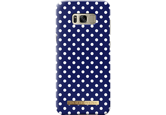 IDEAL OF SWEDEN Fashion Galaxy S8+ Handyhülle, Blue Polka Dots