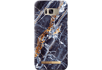 IDEAL OF SWEDEN Fashion Galaxy S8+ Handyhülle, Midnight Blue Marble