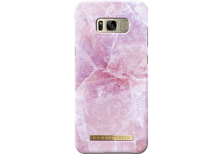 IDEAL OF SWEDEN Fashion Galaxy S8+ Handyhülle, Pilion Pink Marble