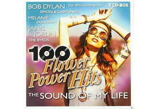 VARIOUS - 100 Flower Power Hits - (CD)
