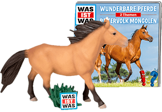 BOXINE Tonie-Hörfigur: Wunderbare Pferde / Reitervolk Mongol Hörfigur, Mehrfarbig