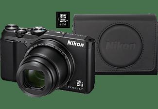NIKON Coolpix A900 Zwart + 16GB + Case