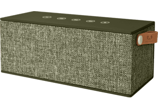 FRESH N REBEL Rockbox Brick XL, Bluetooth Lautsprecher, Ausgangsleistung 2x 10 Watt, Army