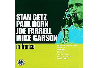 Stan Getz, Paul Horn - In France (CD)