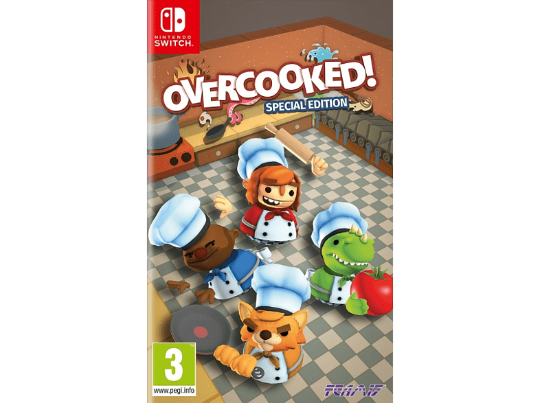 Overcooked Special Edition Switch gaming games switch games