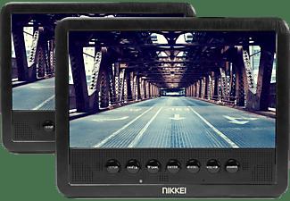 portable DVD speler met 2 displays