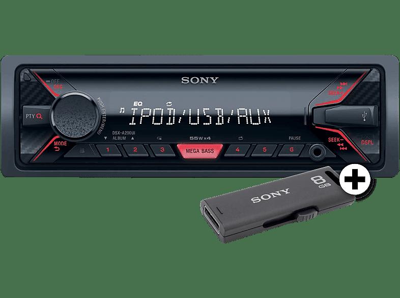 SONY DSX-A210USBEI μαζί με USB Stick 8GB (USM8GMG/USM8GM/USM8GR)