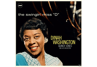 "WASHINGTON DINAH, QUINCY JONES ORCHESTRA - THE SWINGIN MISS ""D"" (LTD.180G VINYL)+3 BONUS - (Vinyl)"