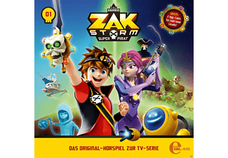 Zak Storm - Captain Zak - (CD)