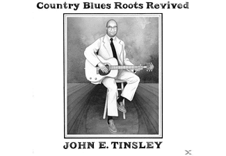 "John E. Tinsley - Country Blues Roots Revived (LP+7"") - (Vinyl)"
