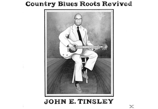 John E. Tinsley - Country Blues Roots Revived - (CD)