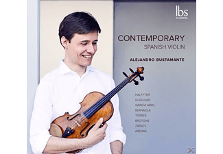 Alejandro Bustamante - Contemporary Spanish Violin - (CD)