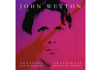 John Wetton - Akustika - Live In Amerika / Akustika II - Return To Amerika (CD)