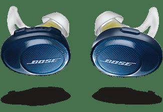 in-ear bluetooth sport koptelefoon soundsport free blauw-geel