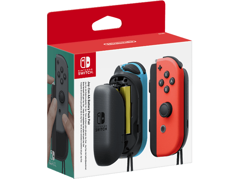NINTENDO Joy-con AA Battery Pack pair gaming απογείωσε την gaming εμπειρία αξεσουάρ switch