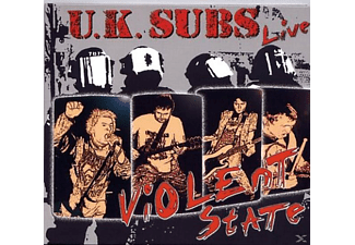 Uk Subs - Violent State - (CD)