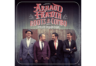 Arnaud Fradin And His Roots Combo - Steady Rollin' Man - (CD)