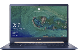 ACER Swift 5 (SF514-52T-86S8), Notebook mit 14 Zoll Display, Core™ i7 Prozessor, 8 GB RAM, 512 GB SSD, UHD Graphics 620, Blau