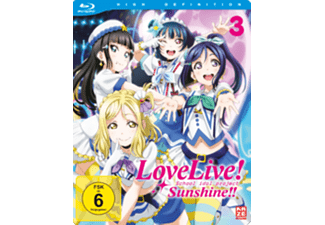 Love Live! Sunshine! Vol. 3 - (Blu-ray)
