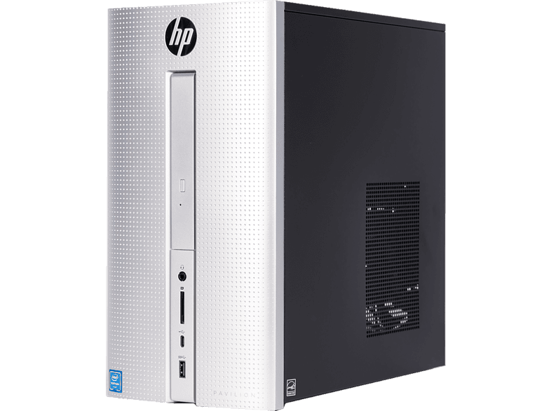 HP Pavilion 570-PO12NV Intel Pentium G4560 / 4GB / 256 GB SSD Silver laptop  tablet  computing  desktop   all in one desktop