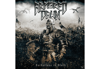 Armored Dawn - Barbarians In Black - (CD)