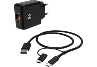 HAMA Qualcomm® Quick Charge™ 3.0 Ladeset