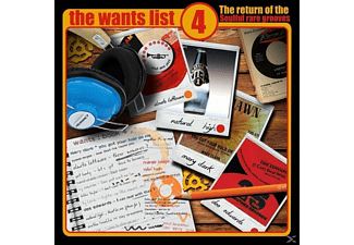 VARIOUS - The Wants List Vol.4 - (Vinyl)