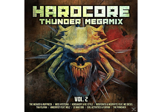 VARIOUS - Hardcore Thunder Megamix Vol.2 - (CD)