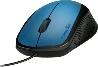 SPEEDLINK SL-610011-BE, USB-Maus, Blau