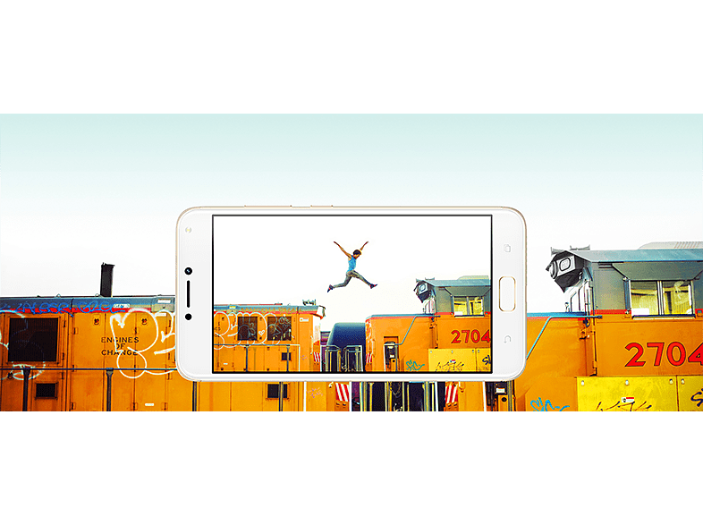 ASUS Zenfone 4 Max Dual SIM fekete kártyafüggetlen okostelefon (ZC520KL-4A011WW)