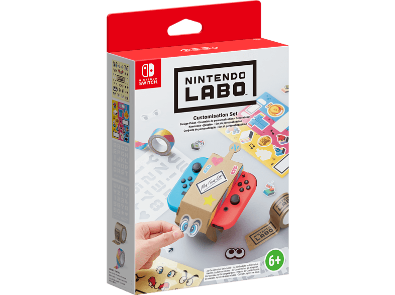 NINTENDO Labo Customisation Set gaming games switch games gaming απογείωσε την gaming εμπειρία αξεσουάρ switch