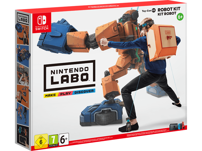 Labo Robo Kit Nintendo Switch gaming games switch games