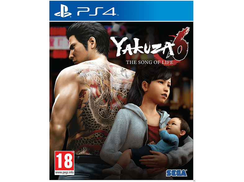Yakuza 6 The song of Life PlayStation 4 gaming games ps4 games